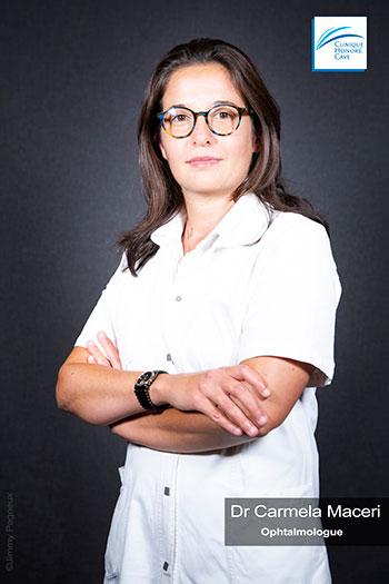 Dr. MACERI Carmela - Clinique Honoré Cave