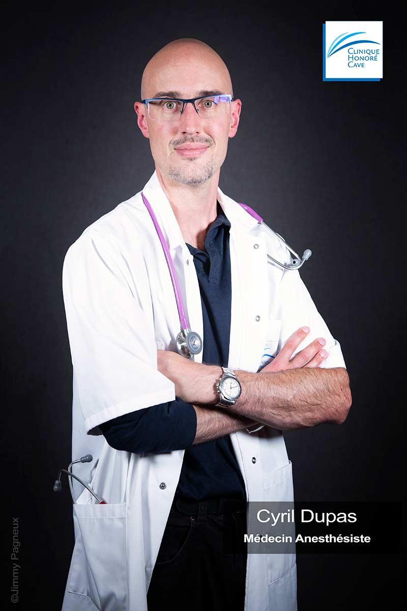 Dr. DUPAS Cyril - Clinique Honoré Cave