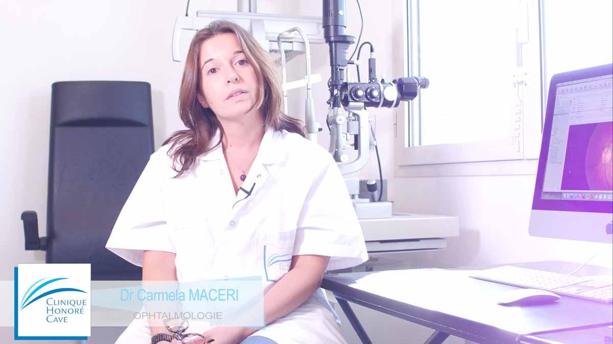 Examen OCT en ophtalmologie - Clinique Honoré Cave