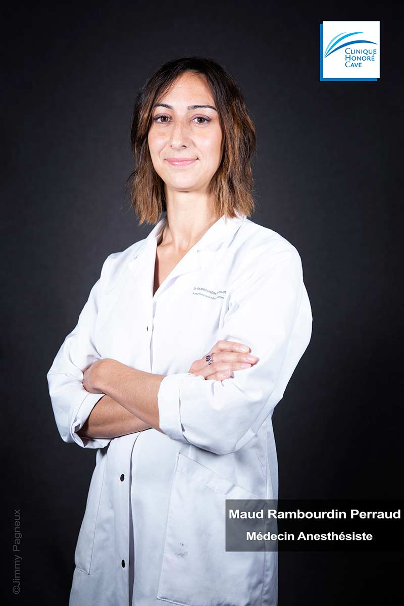 Dr. RAMBOURDIN PERRAUD Maud - Clinique Honoré Cave